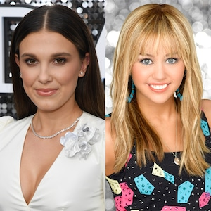 Millie Bobby Brown, Hannah Montana, Miley Cyrus