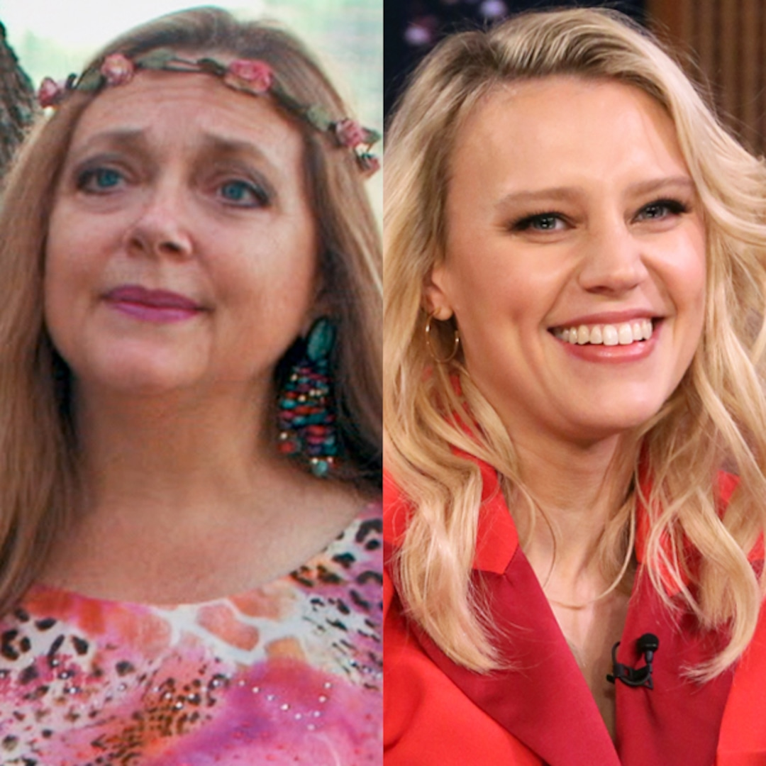 Kate McKinnon Makes for a Purr-fect Carole Baskin in First Photos From Tiger King Miniseries
