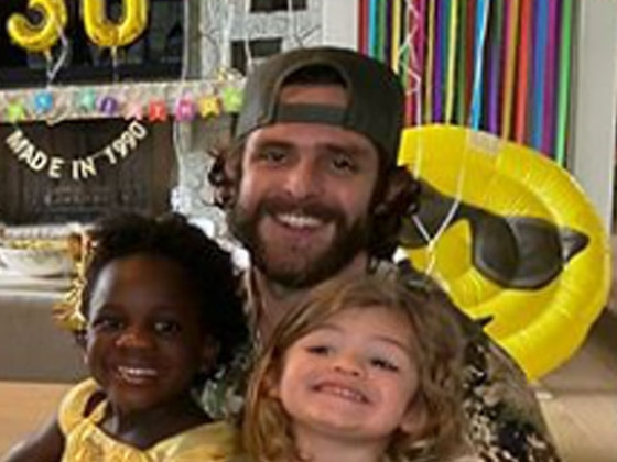 Thomas Rhett's 30th Birthday Celebration Was Perfect for Social Distancing