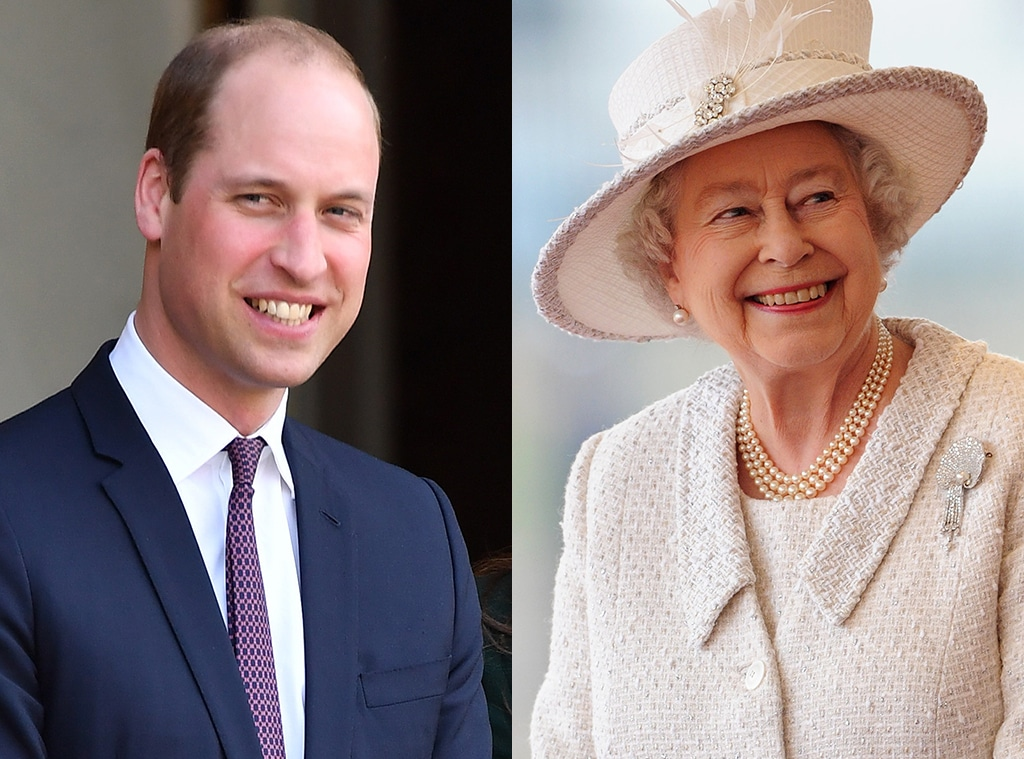 Prince William, Queen Elizabeth