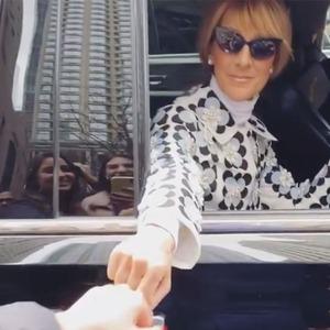 Celine Dion, Viral Fan Serenade