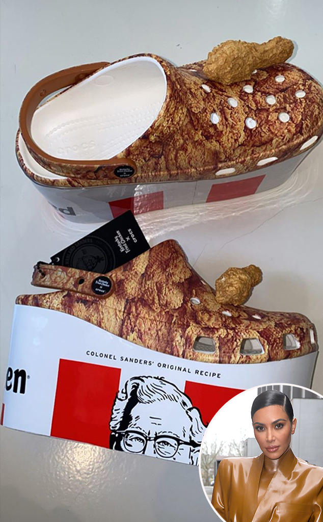 Kim Kardashian, KFC, Shoes