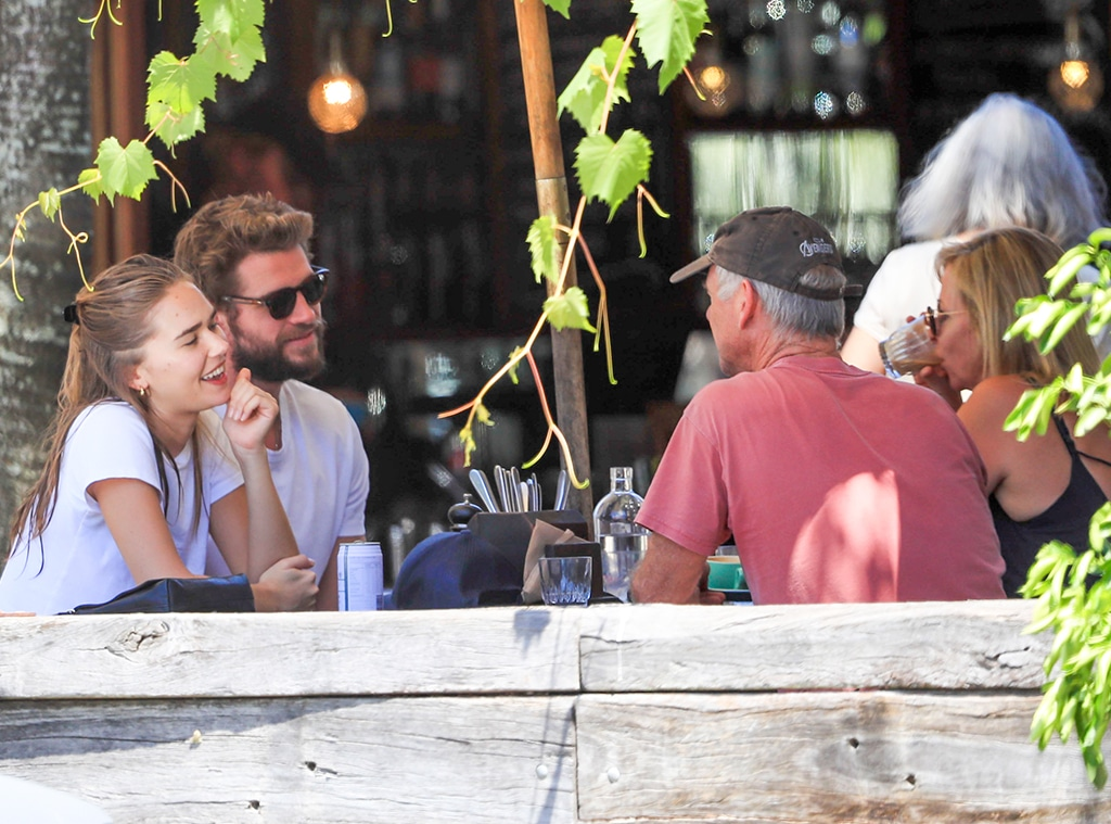Liam Hemsworth, Gabriella Brooks, Craig Hemsworth, Leonie Hemsworth