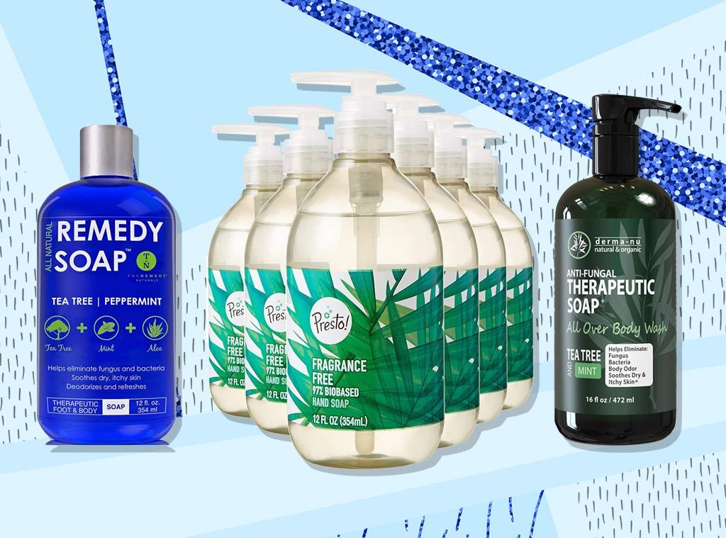 E-Comm: Antibacterial soaps