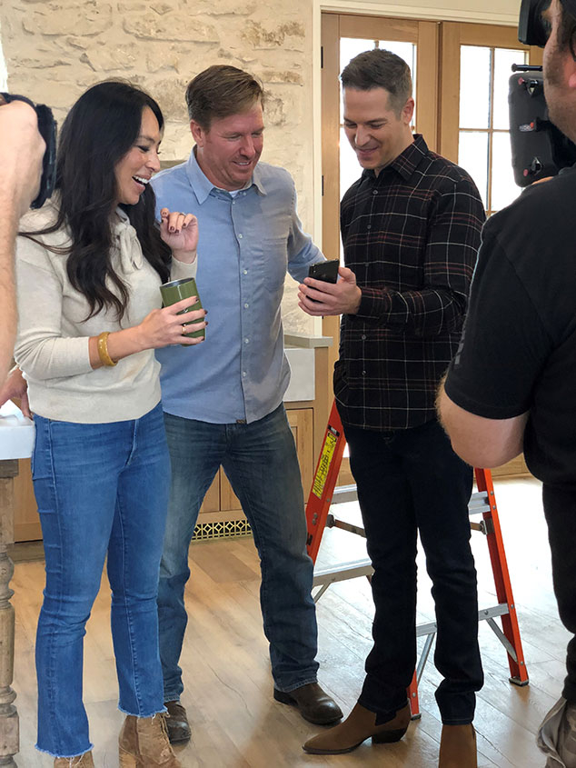 Chip Gaines, Joanna Gaines, Jason Kennedy, In the Room