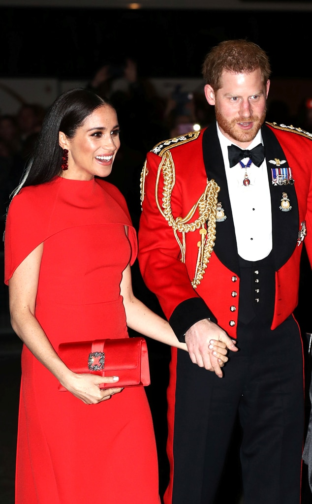 Meghan Markle Prince Harry Drop Titles In Thankful Letter To Charity E Online