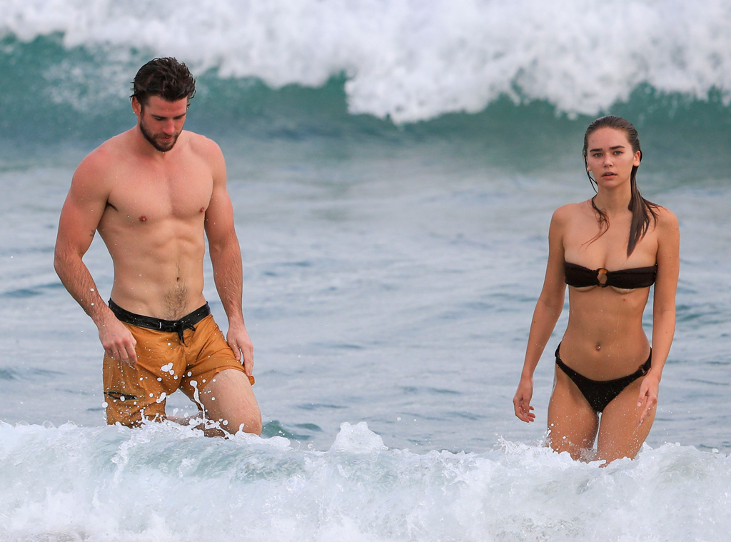 Liam Hemsworth & Gabrielle Brooks