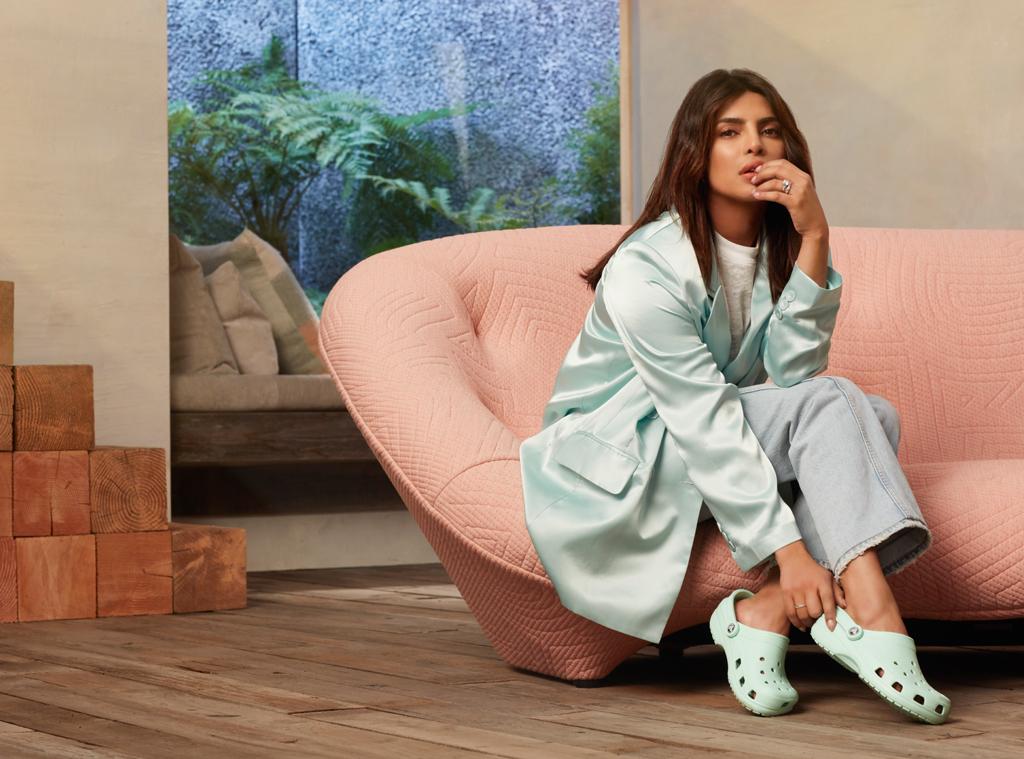 E-comm: Priyanka Chopra Crocs