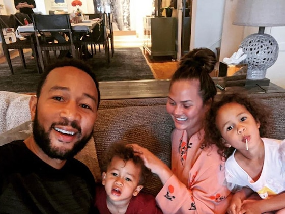 Chrissy Teigen and John Legend's Sweet Family Photo Is Sure to Make You Smile