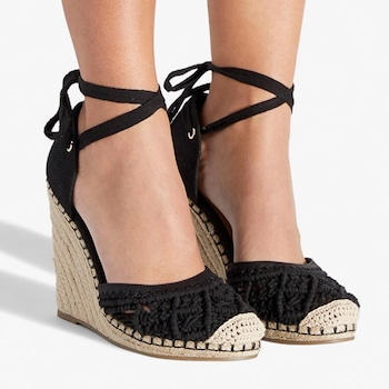 Kendra Wilkinson Home Must-Haves, Connee Ankle Tie Wedge
