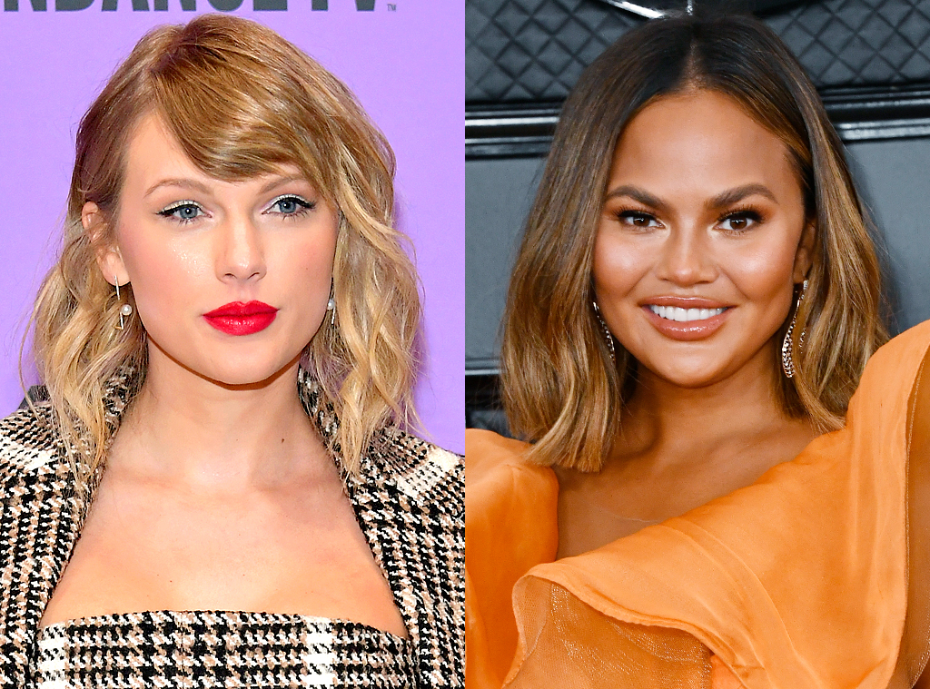 Taylor Swift, Chrissy Teigen