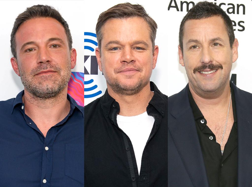 Ben Affleck, Matt Damon, Adam Sandler
