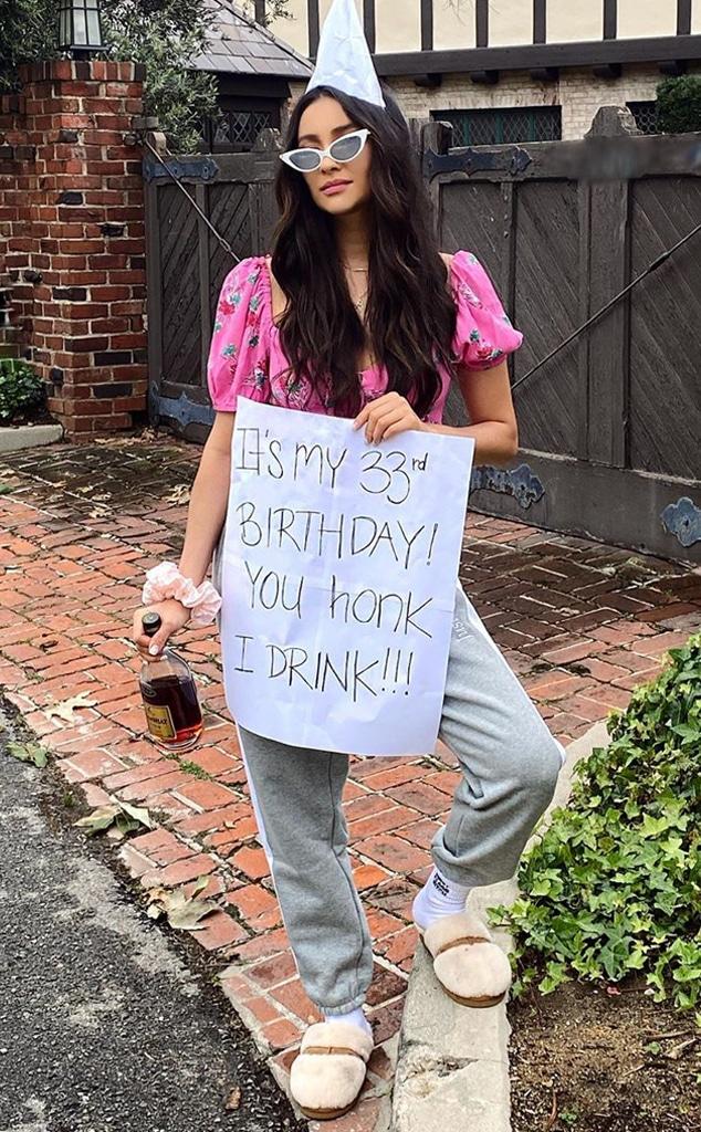 Shay Mitchell, birthday, Instagram