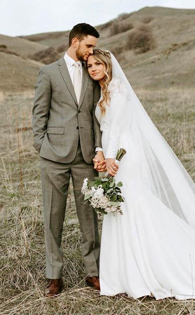 Makenzie Johnsen, Ross Bassett, wedding