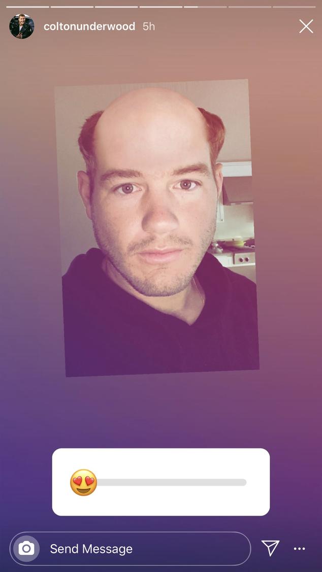 Colton Underwood Instagram Stories