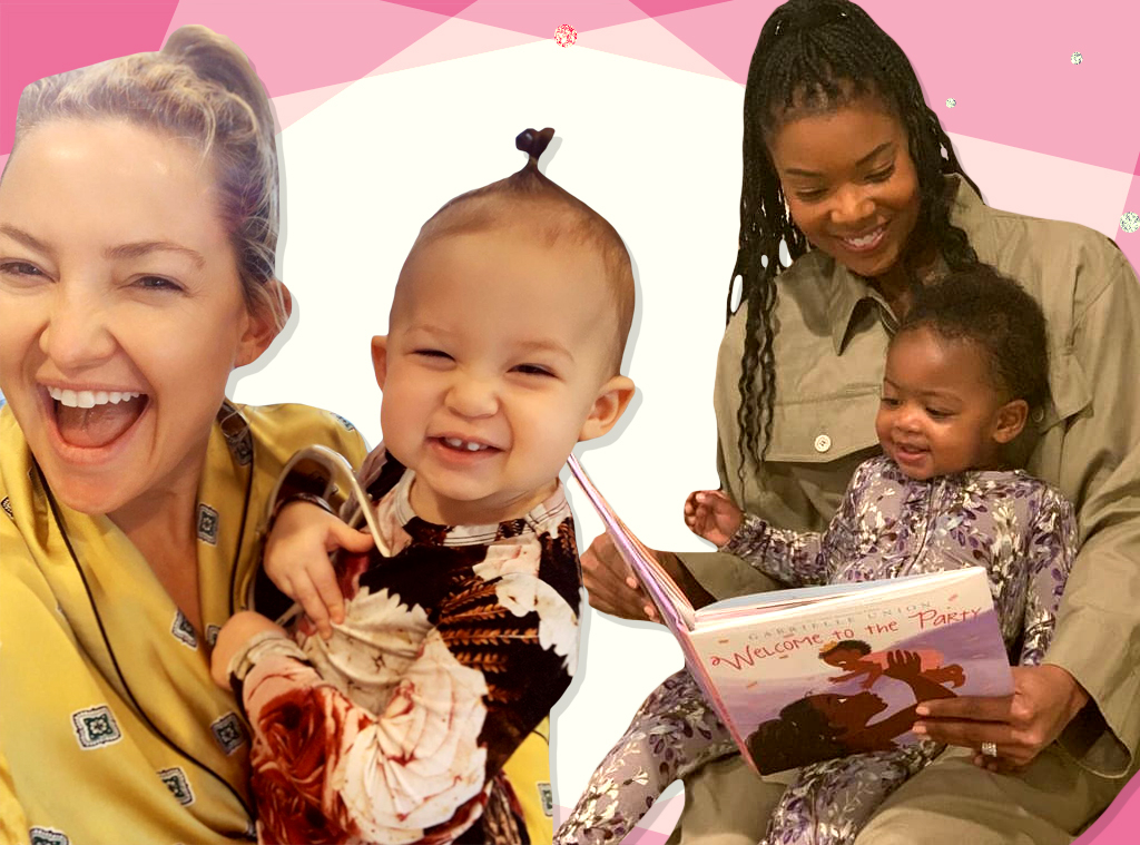 EComm, Celeb Fave Kids Clothing Brand Posh Peanut, Collage