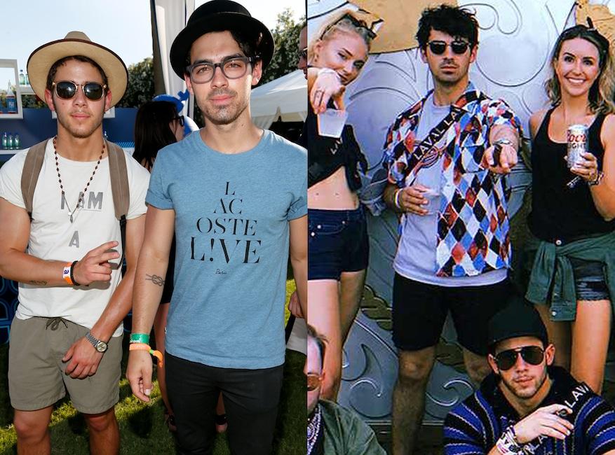 Coachella and Stagecoach Fashion, Nick Jonas, Joe Jonas