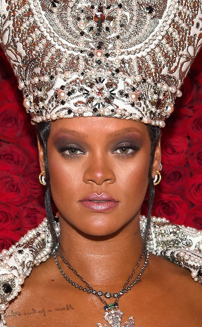 Rihanna, 2018 Met Gala, Beauty