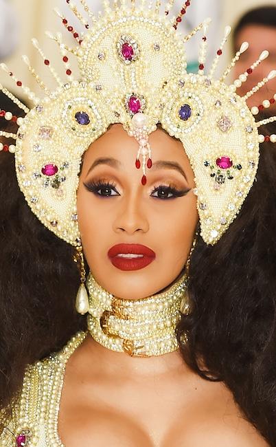 Cardi B, 2019 Met Gala, Beauty