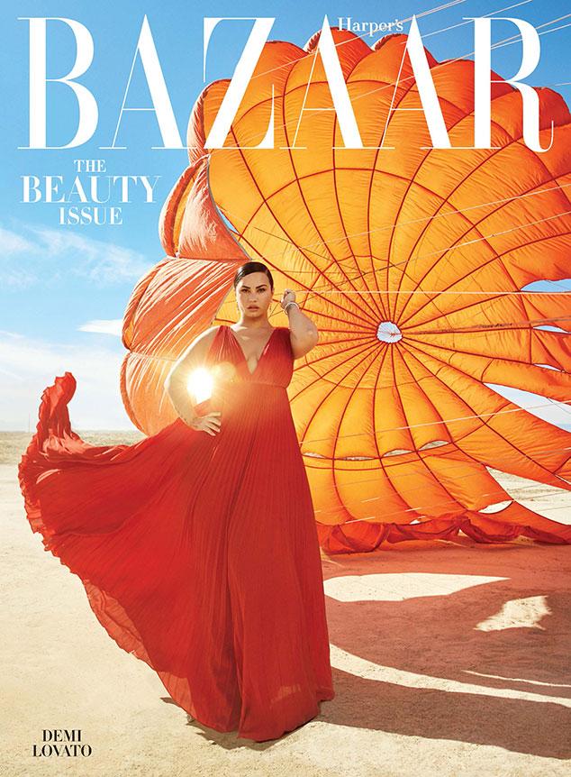Demi Lovato, Harper's Bazaar