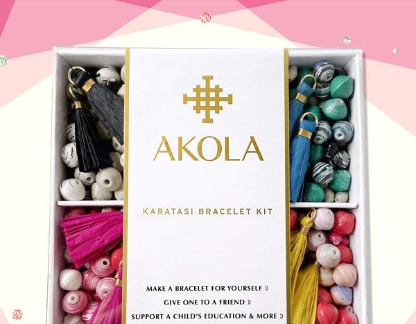 Celeb Fave Akola's DIY Bracelet Kit Will Be Your New Hobby