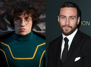 Aaron Johnson, Kick-Ass, Then and Now