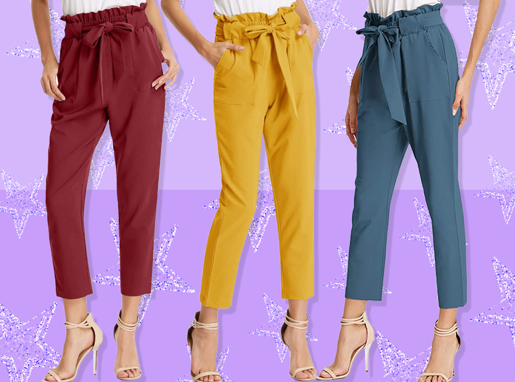 E-comm: These $25 Paper Bag-Waist Pants Have 1,700 5-Star Amazon Reviews