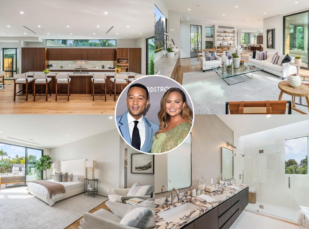 John Legend, Chrissy Teigen, Real Estate