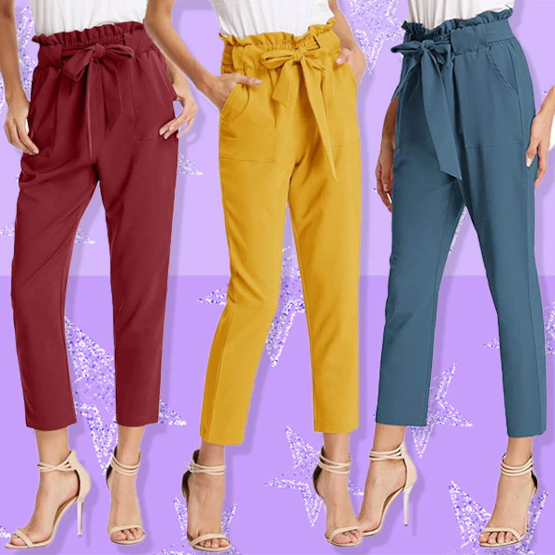 These $25 Paper Bag-Waist Pants Have Over 7,700 5-Star Amazon Reviews