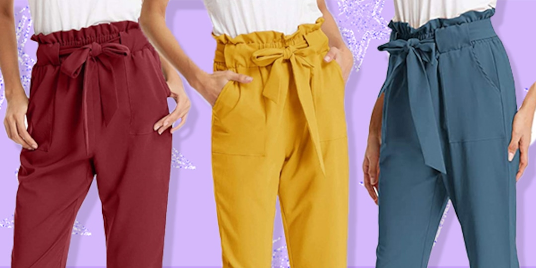 These $25 Paper Bag-Waist Pants Have Over 7,700 5-Star Amazon Reviews - E! Online.jpg