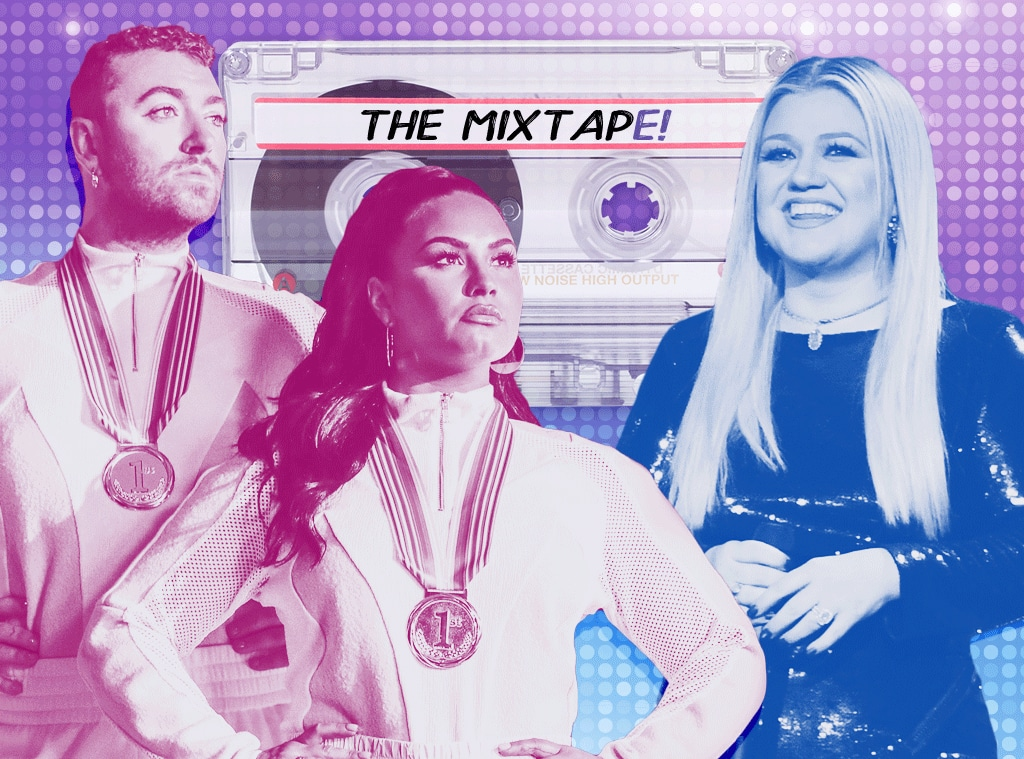 The MixtapE!, Kelly Clarkson, Sam Smith, Demi Lovato