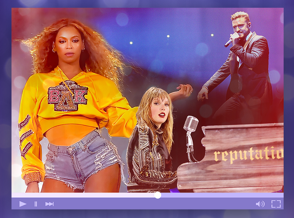 Concerts To Stream: Beyonce, Taylor Swift, Justin Timberlake