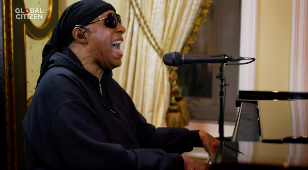 One World: Together at Home Event, Stevie Wonder
