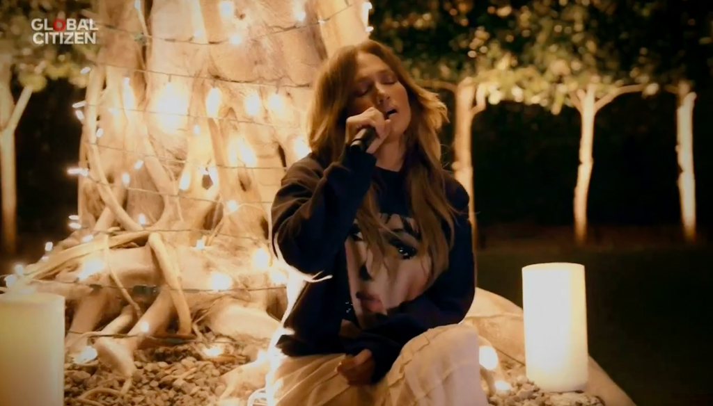 One World: Together at Home Event, Jennifer Lopez