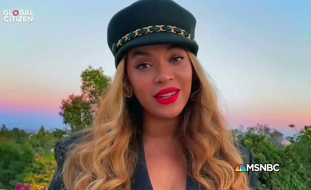 One World: Together at Home Event, Beyonce