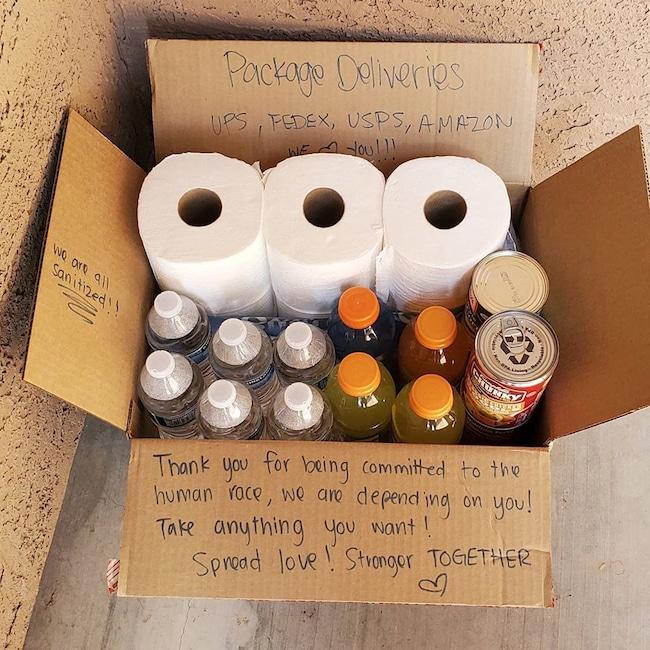 Neighborhood Acts of Kindness, Coronavirus