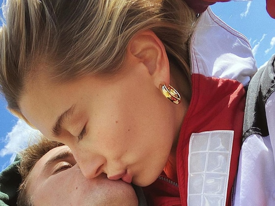 Hailey and Justin Bieber Soak Up the Sunshine in PDA-Packed Photo