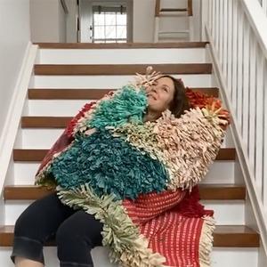 Drew Barrymore, Stella McCartney, Staircase Challenge