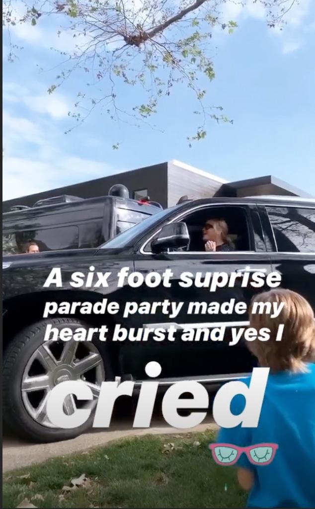 Kate Hudson's Birthday, Social Distancing Parade