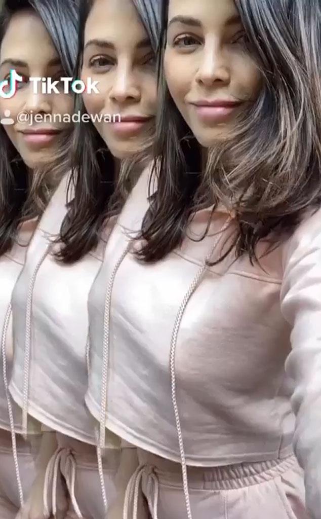 Jenna Dewan, TikTok Debut