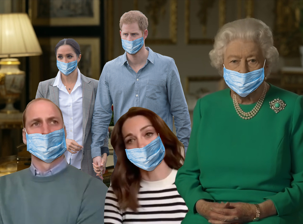 Royals, Queen Elizabeth, Kate Middleton, Prince William, Prince Harry, Meghan Markle, Pandemic