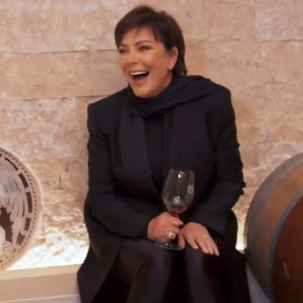Kris Jenner's Tipsy Laughing Fit While at a Winery Is Such a Mood!