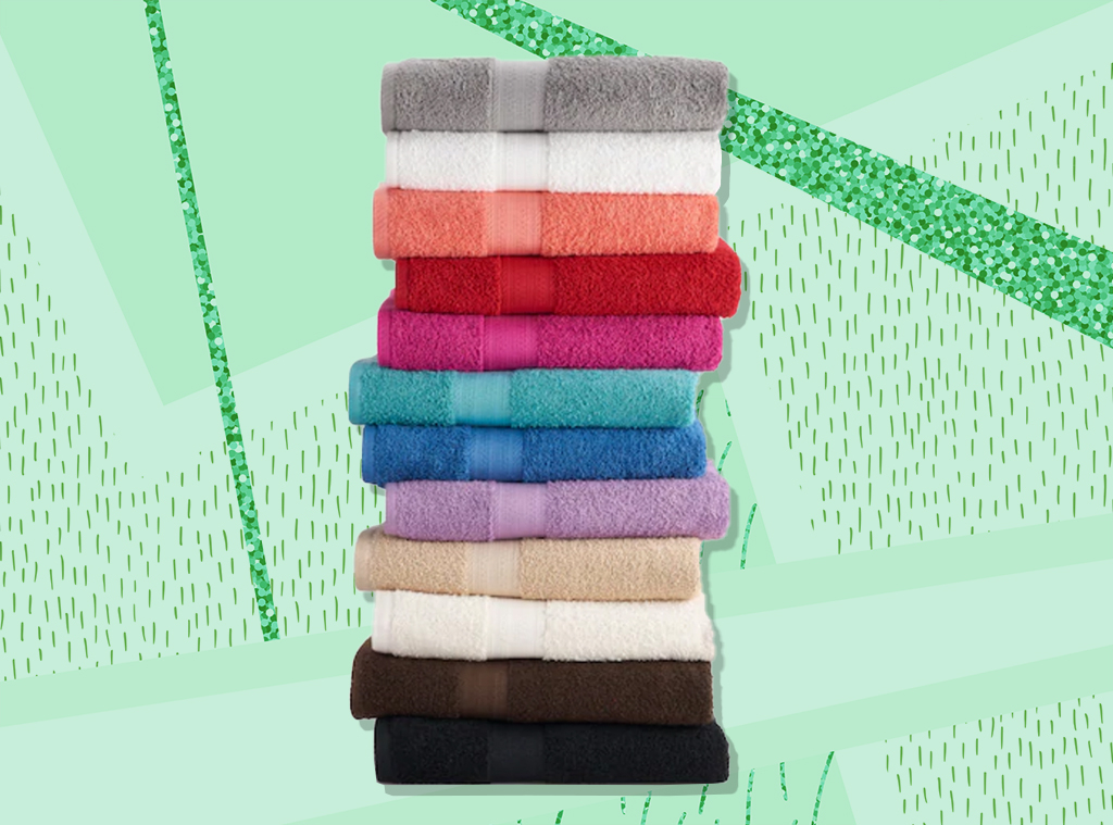 E-Comm: This Best-Selling Bath Towel Is on Sale for $3.49!
