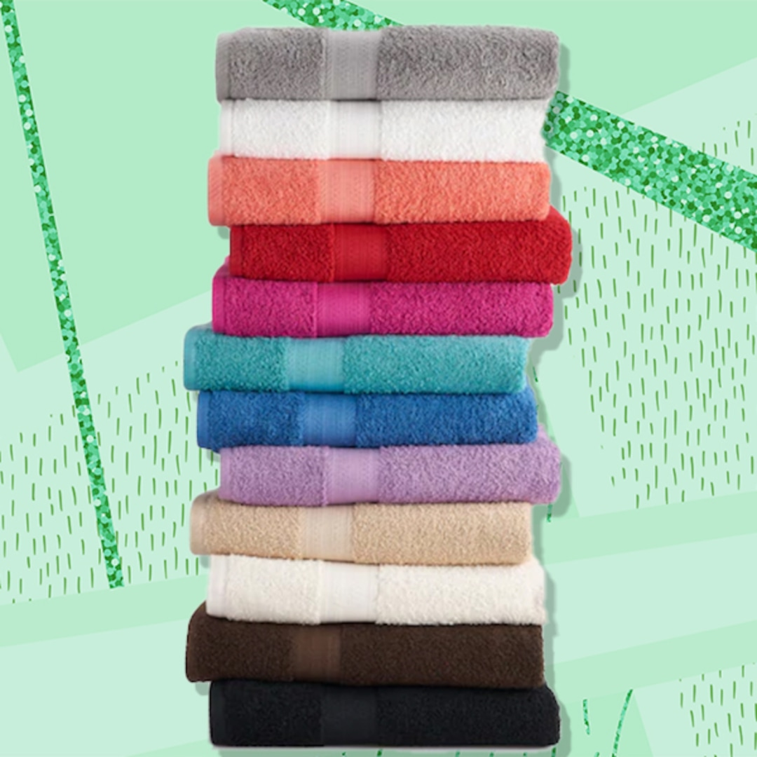 These Best-Selling Bath Towels Are on Sale for Only $4!