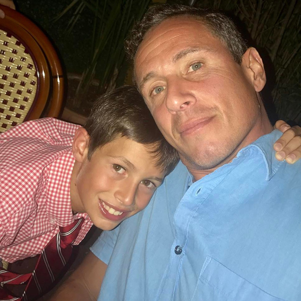 Chris Cuomo's 14-Year-Old Son Mario Has Coronavirus