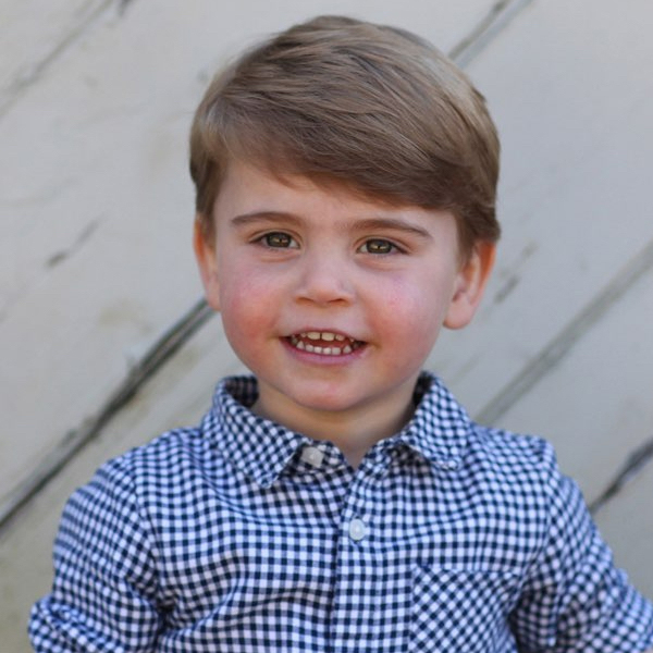 Prince Louis Is Royally Adorable in Never-Before-Seen Birthday Photo