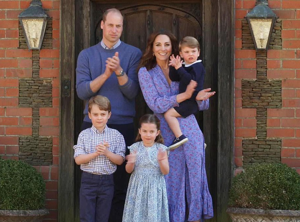 Prince William, Kate Middleton, prince George, prince Louis, princess Charlottle