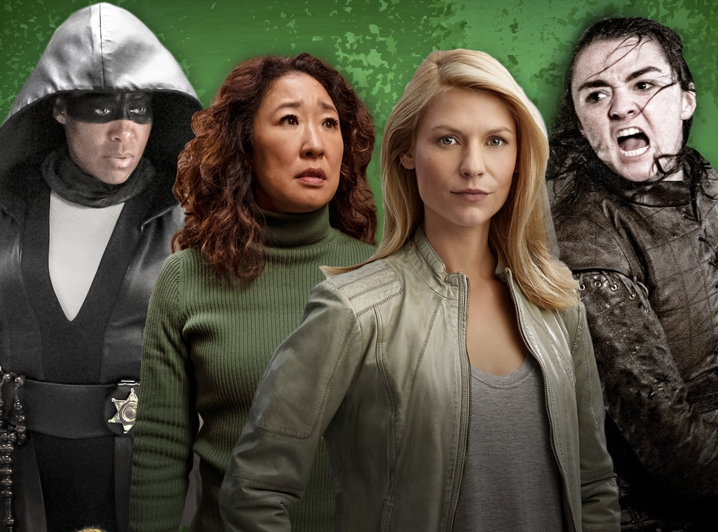 TV's Badass Females, Watchmen, Killing Eve, Homeland, Game of Thrones