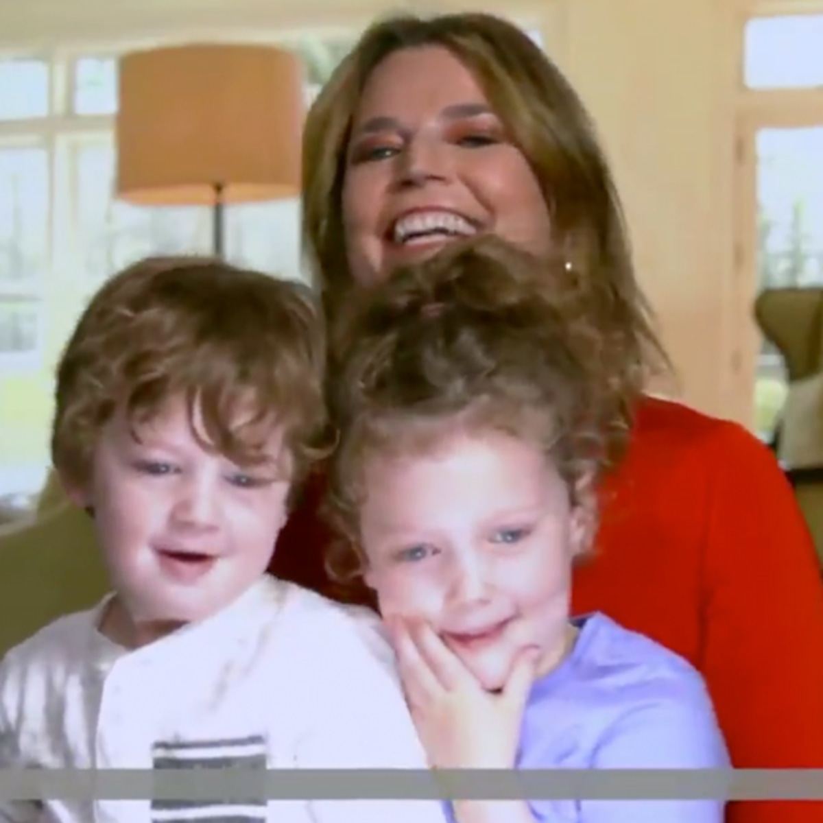 Watch Savannah Guthrie S Kids Adorably Take Over Today E Online