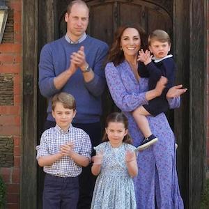 Prince William, Kate Middleton, prince George, prince Louis, princess Charlottle